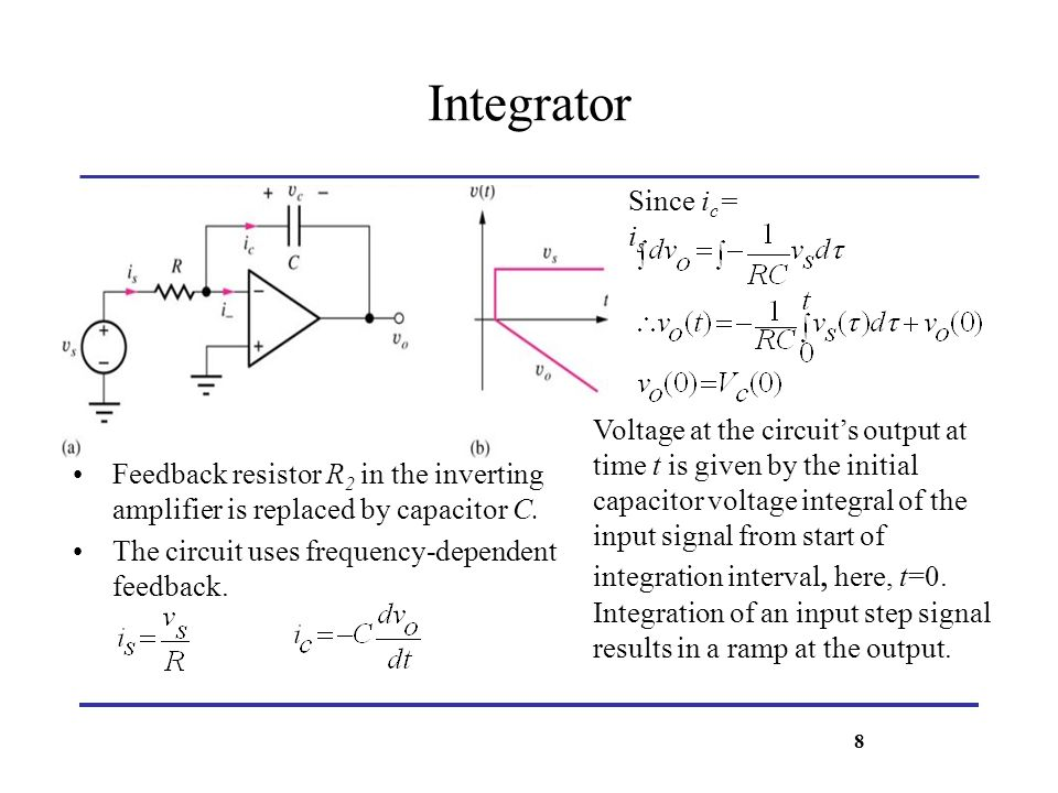 Integrator Since ic= is
