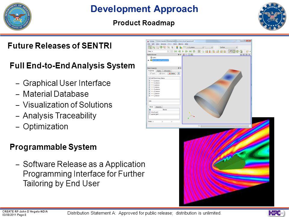 Development Approach Future Releases of SENTRI
