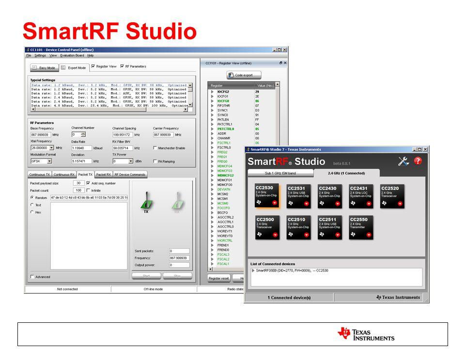 SmartRF Studio