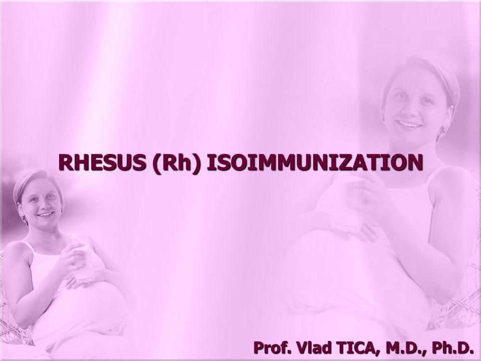 RHESUS (Rh) ISOIMMUNIZATION