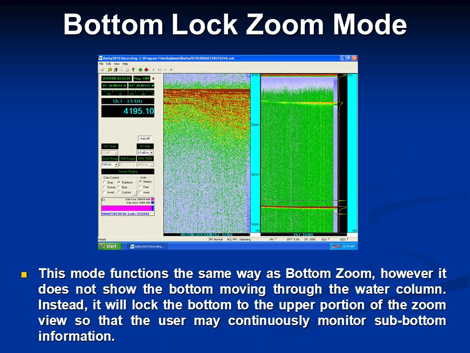 Bottom Lock Zoom Mode