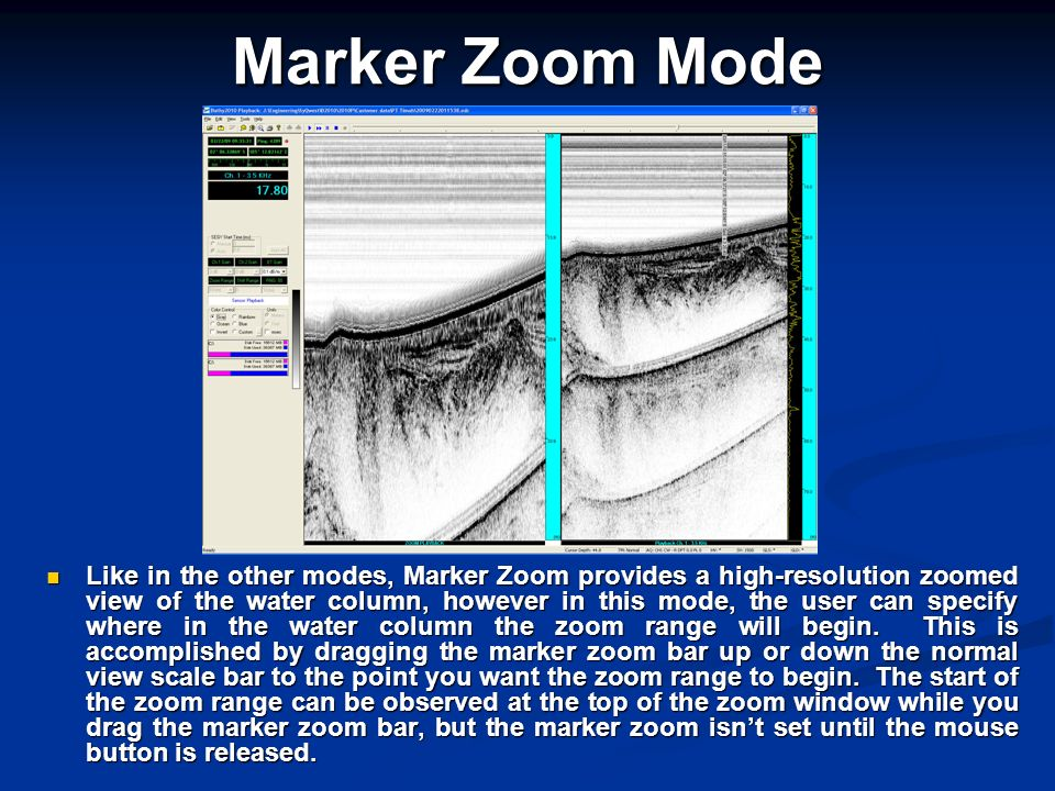 Marker Zoom Mode