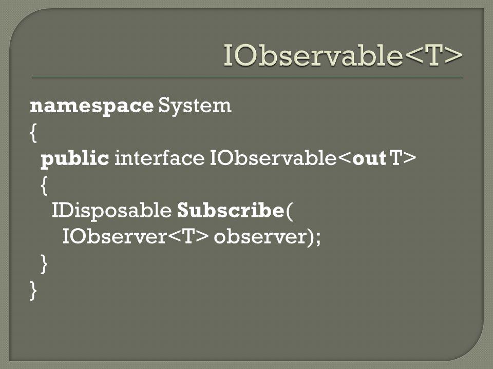 IObservable<T>
