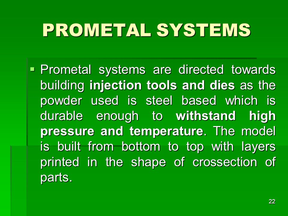 PROMETAL SYSTEMS