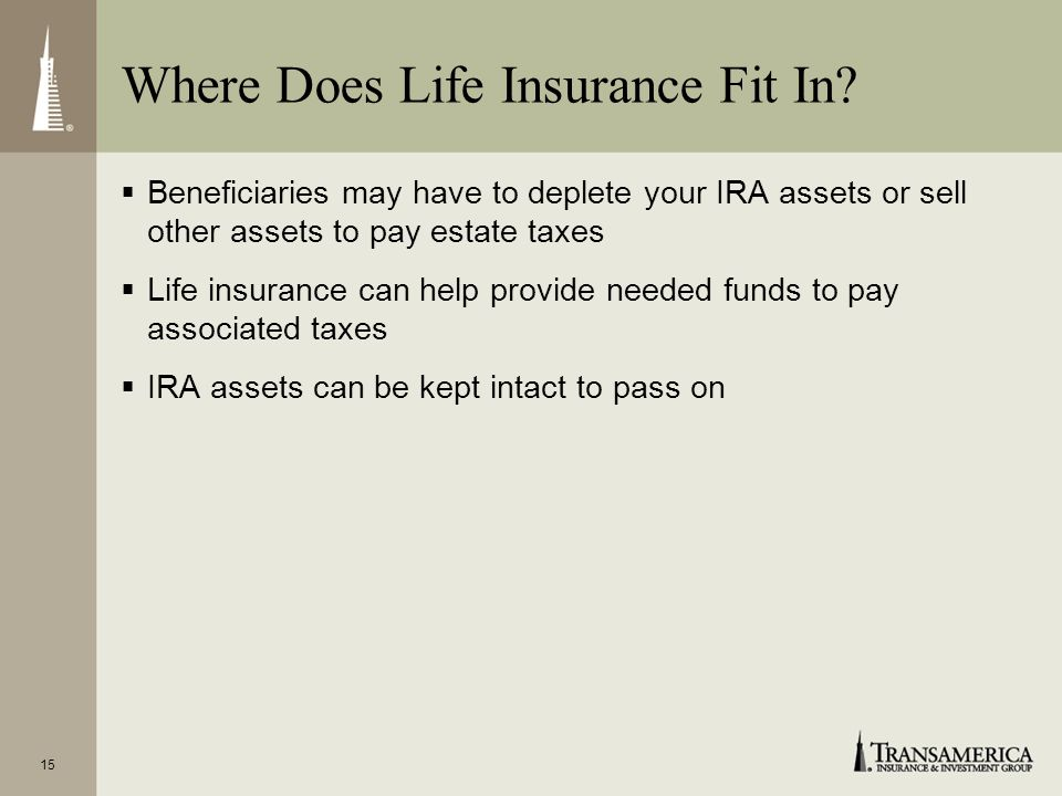 Where Does Life Insurance Fit In