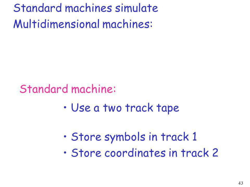 Standard machines simulate
