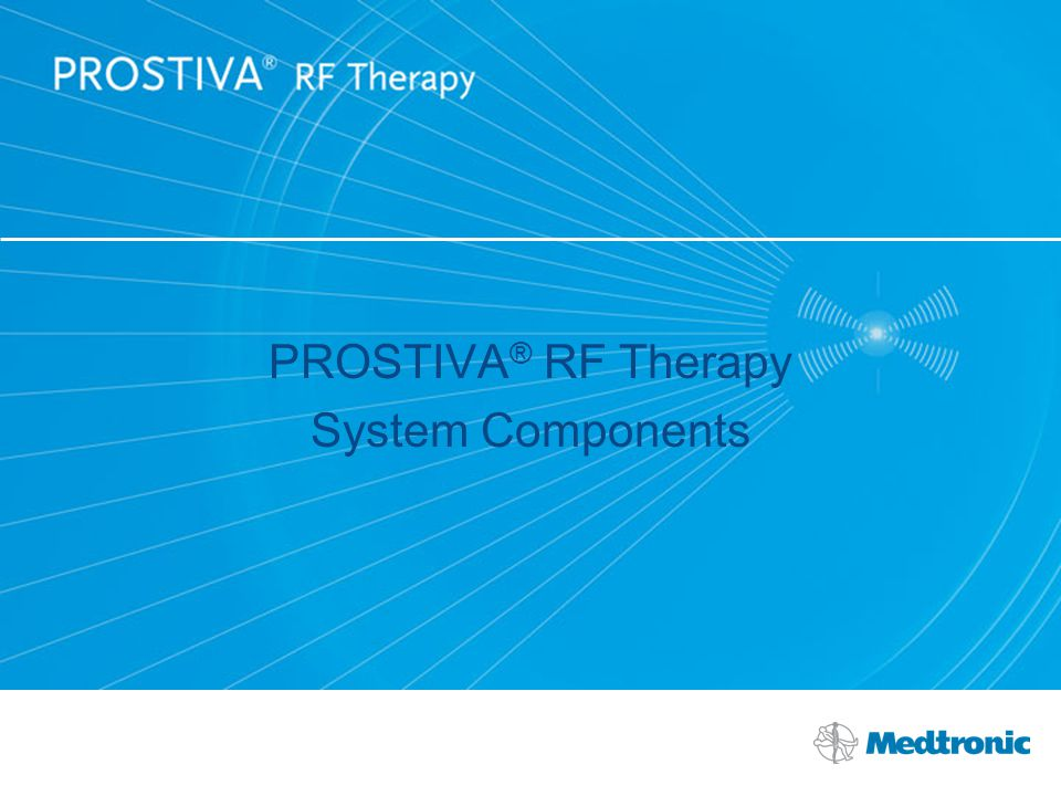 PROSTIVA® RF Therapy System Components