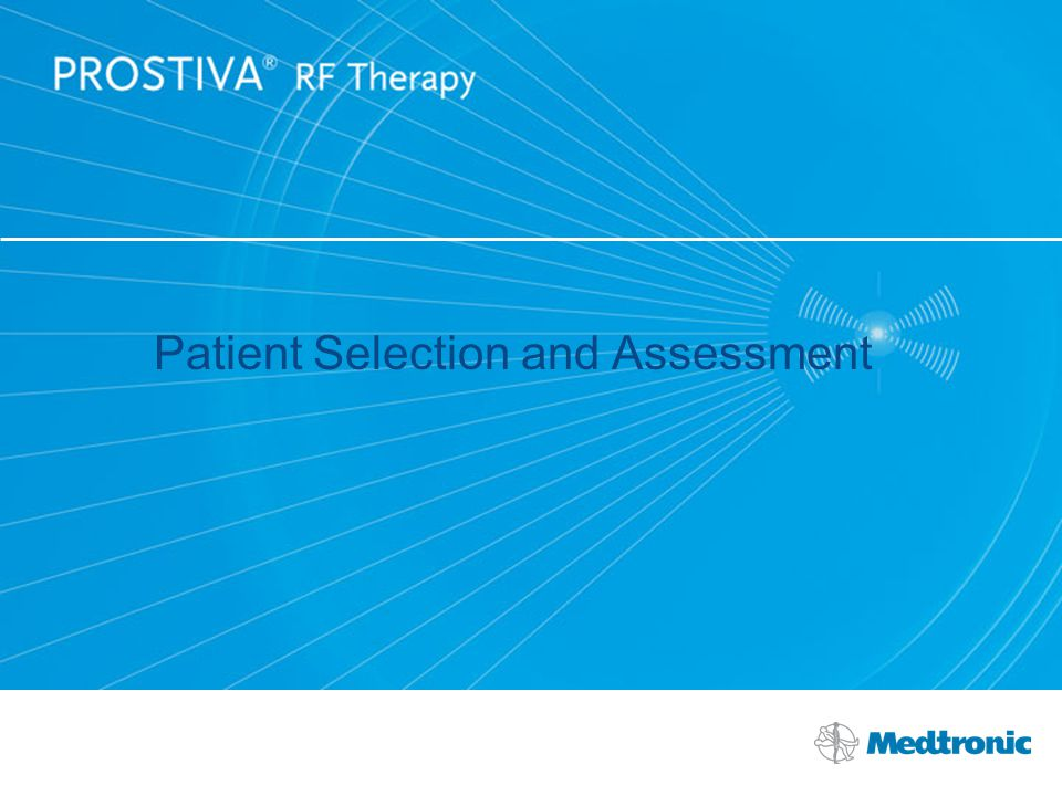 Patient Selection and Assessment