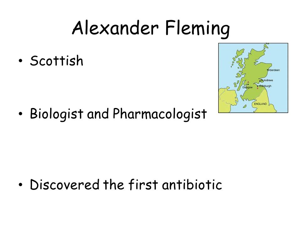 Alexander Fleming Scottish Biologist and Pharmacologist