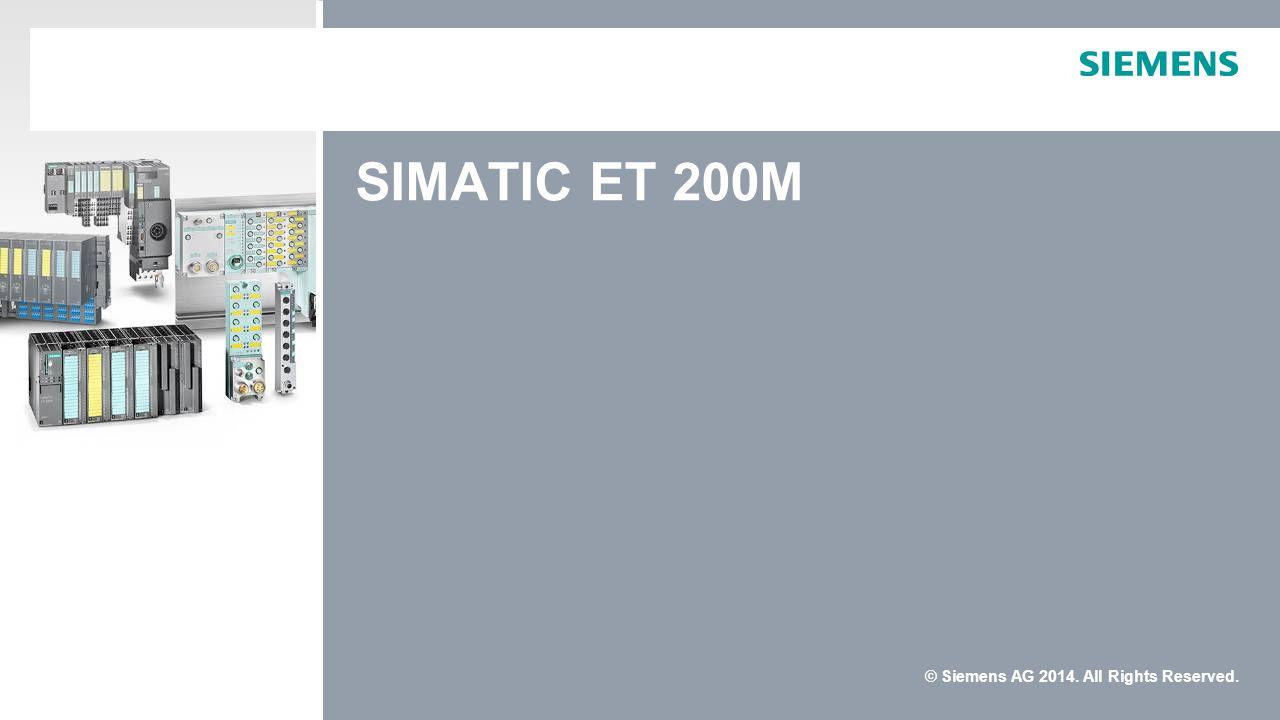 SIMATIC ET 200M