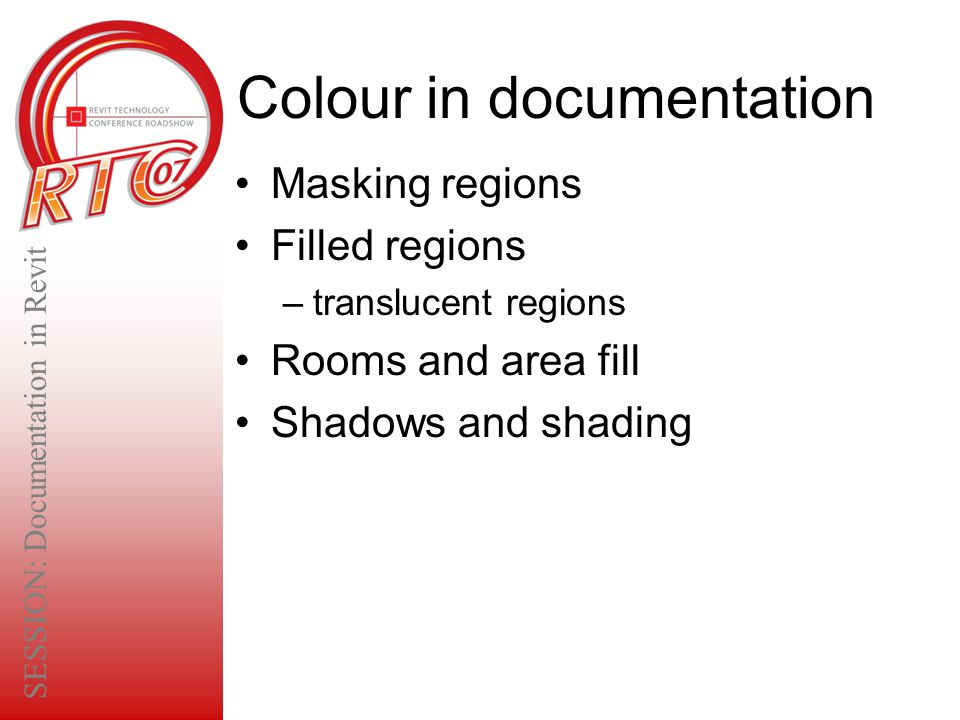 Colour in documentation