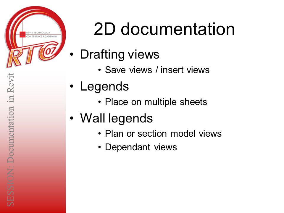 SESSION: Documentation in Revit