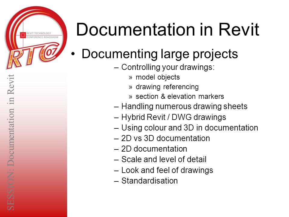 Documentation in Revit