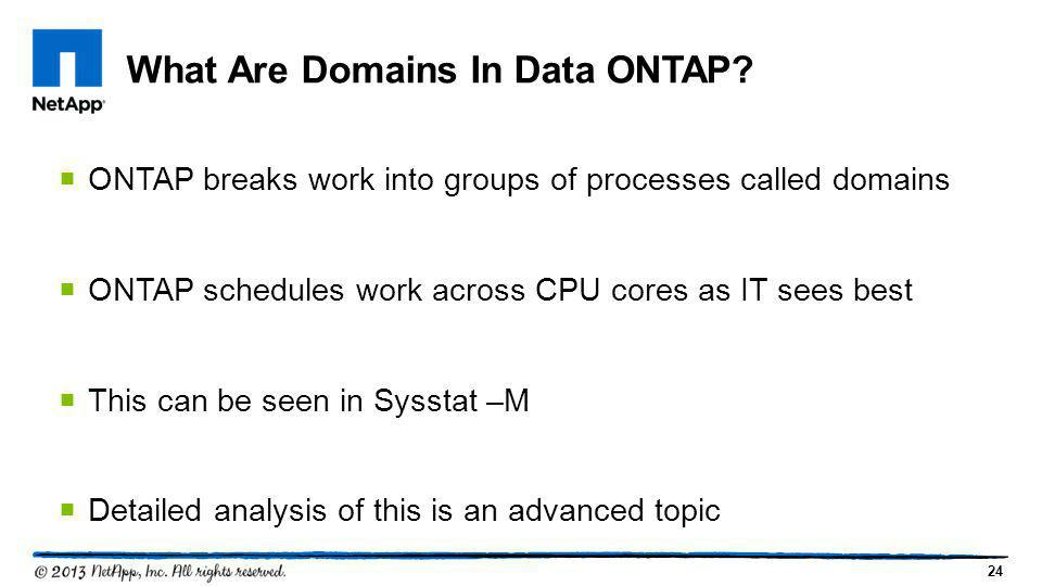 What Are Domains In Data ONTAP