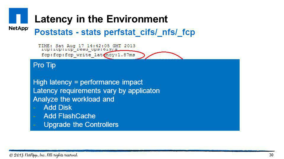 Latency in the Environment