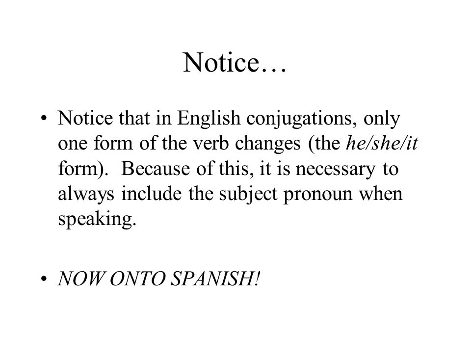 Notice…