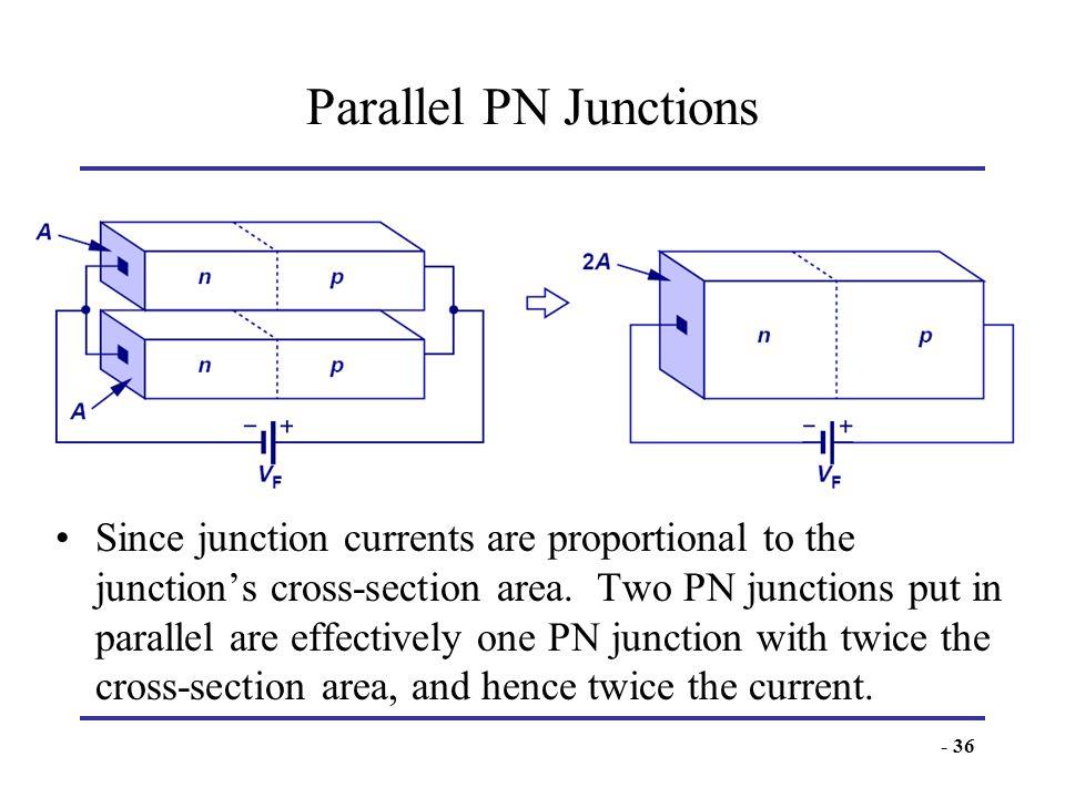 Parallel PN Junctions