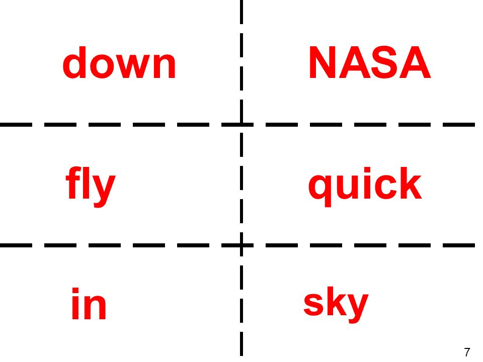 down NASA fly quick in sky 7