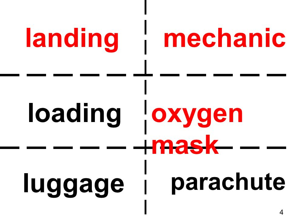 landing mechanic loading oxygen mask luggage parachute 4