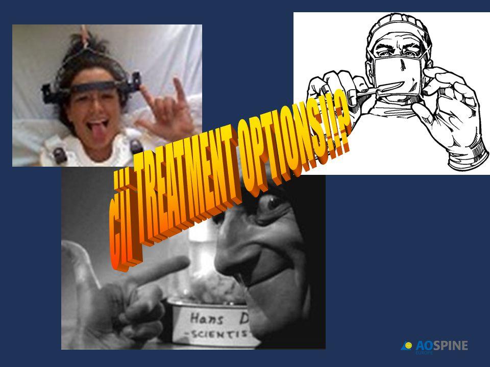 ¿¡¡ TREATMENT OPTIONS!!
