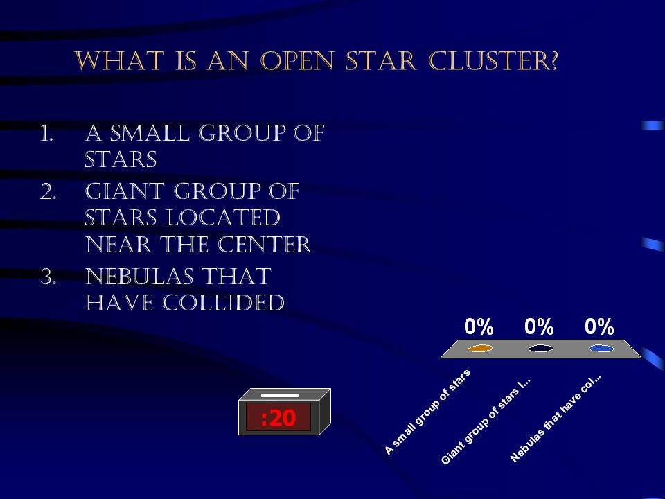 What is an open star cluster