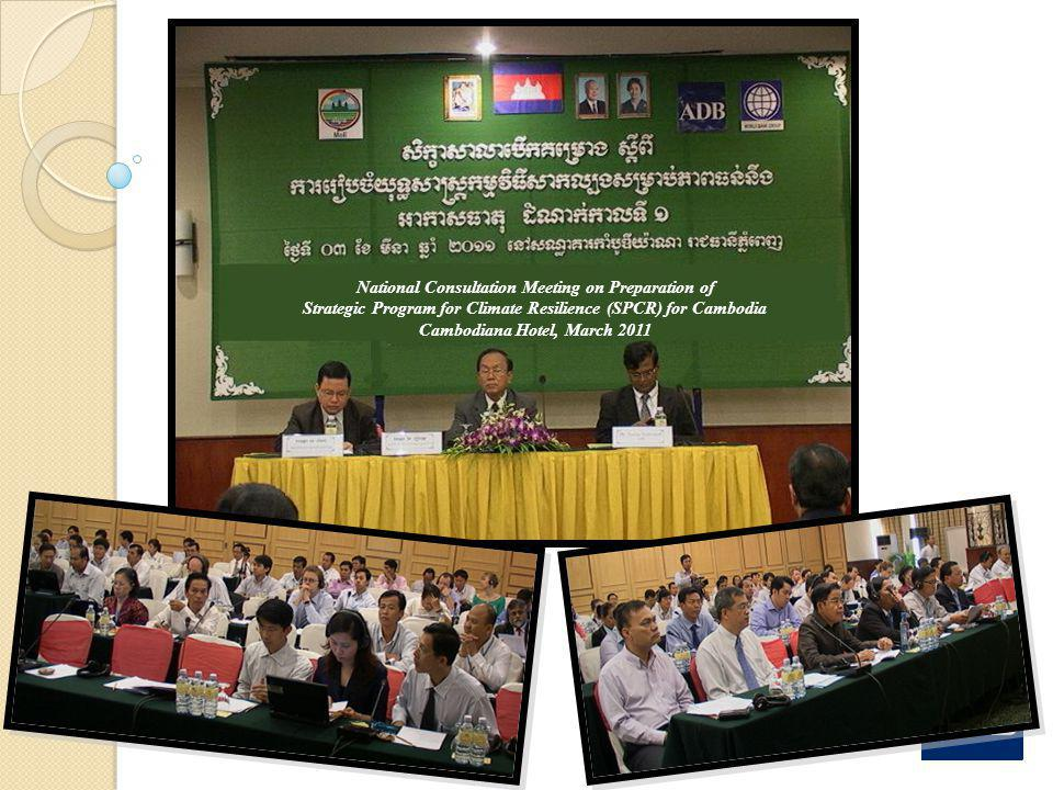 National Consultation Meeting on Preparation of