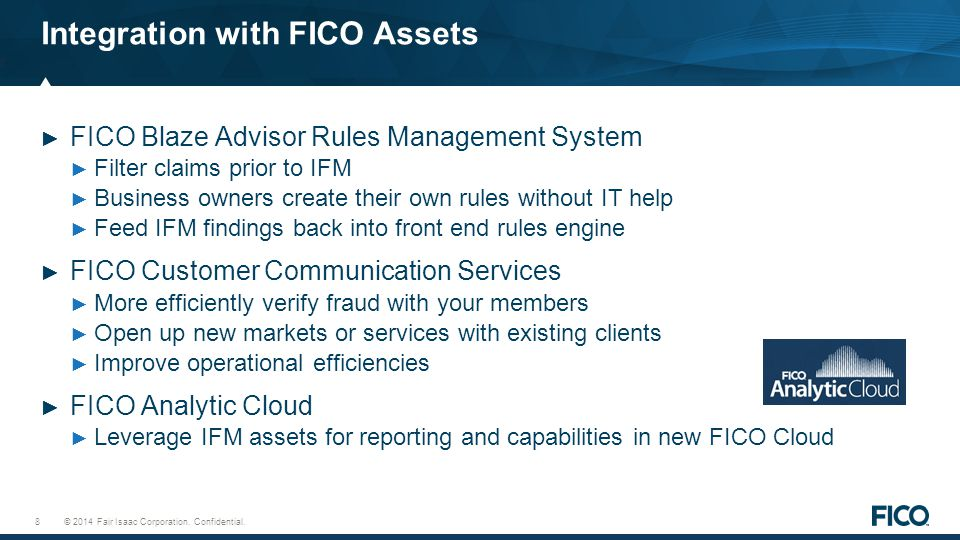 Integration with FICO Assets