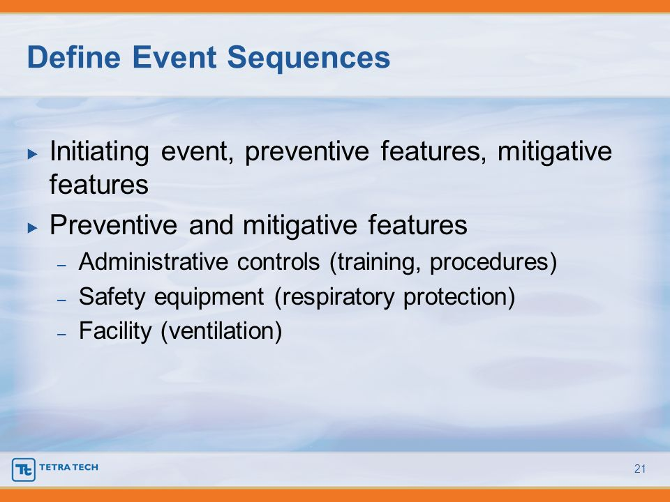 Define Event Sequences