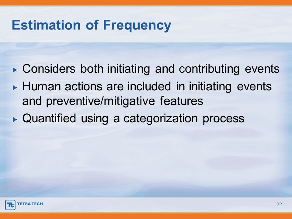 Estimation of Frequency
