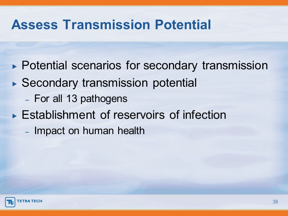 Assess Transmission Potential