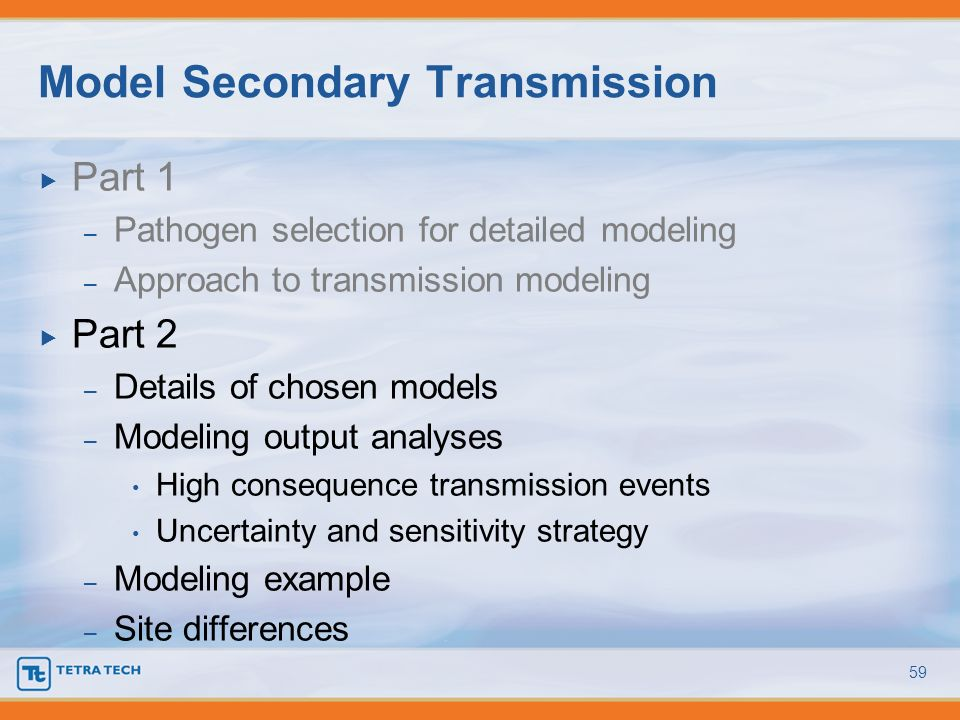 Model Secondary Transmission