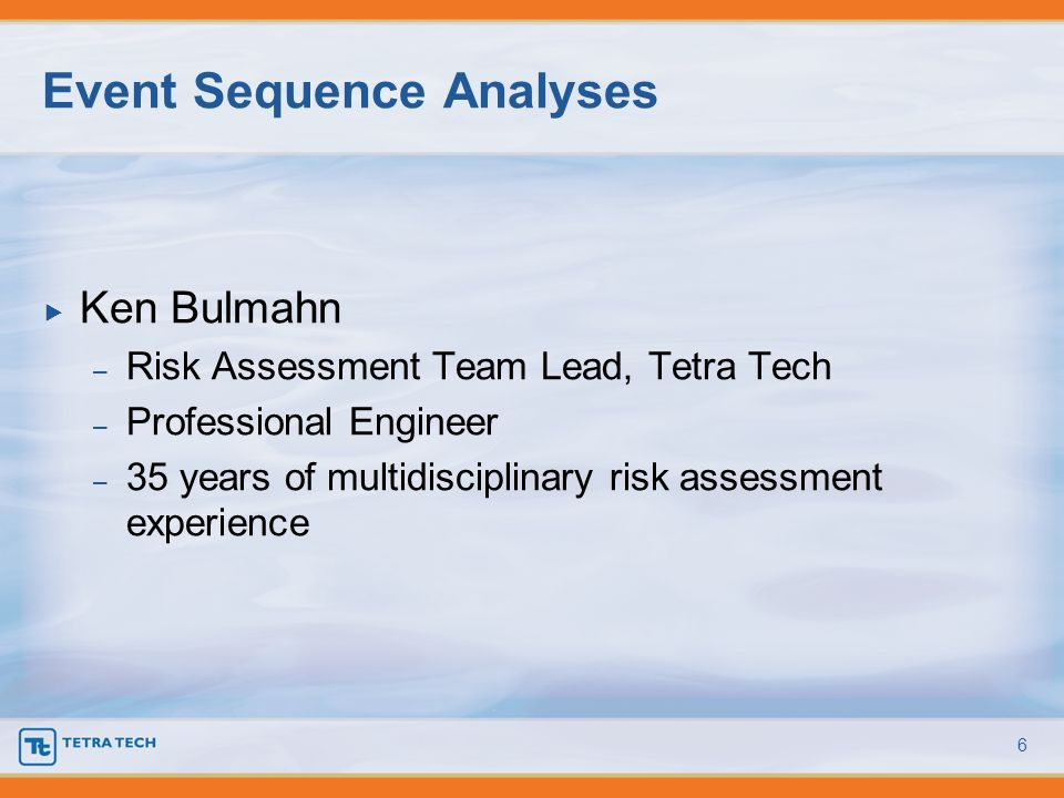 Event Sequence Analyses