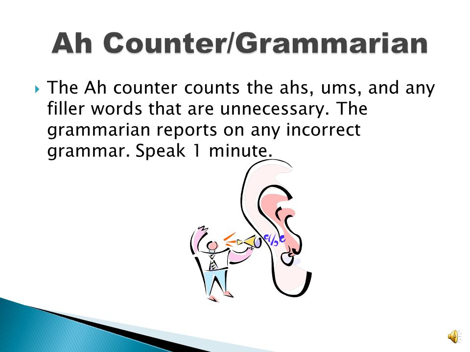 Ah Counter/Grammarian