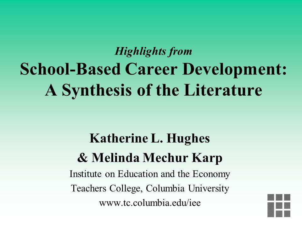 Katherine L. Hughes & Melinda Mechur Karp