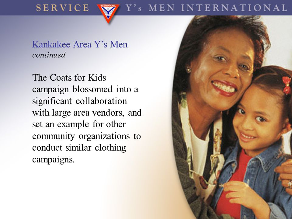 Kankakee Area Y's Men continued