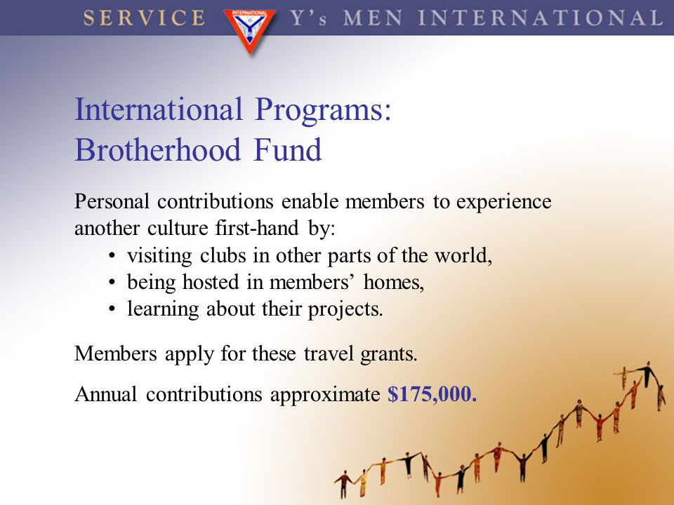 International Programs: Brotherhood Fund
