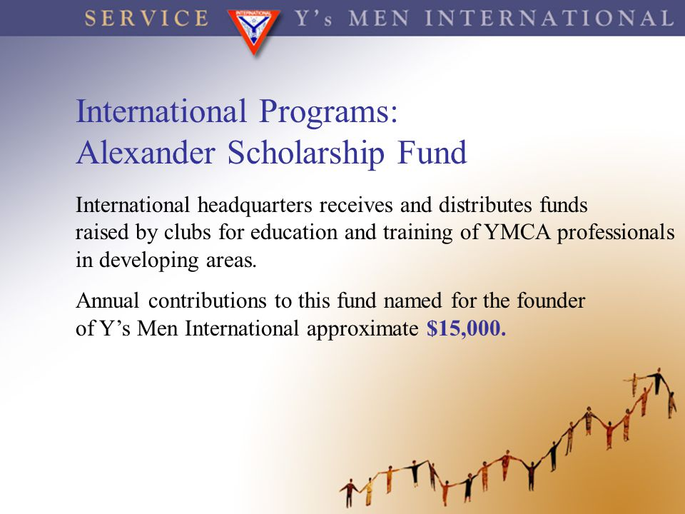 International Programs: Alexander Scholarship Fund