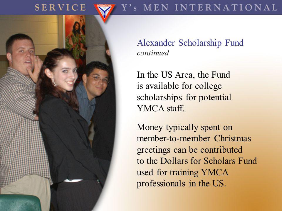 Alexander Scholarship Fund
