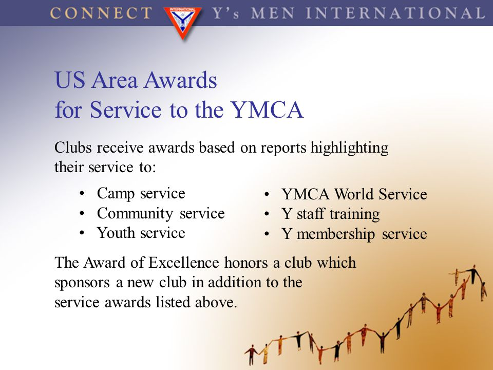 US Area Awards for Service to the YMCA