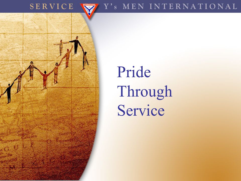 Pride Through Service