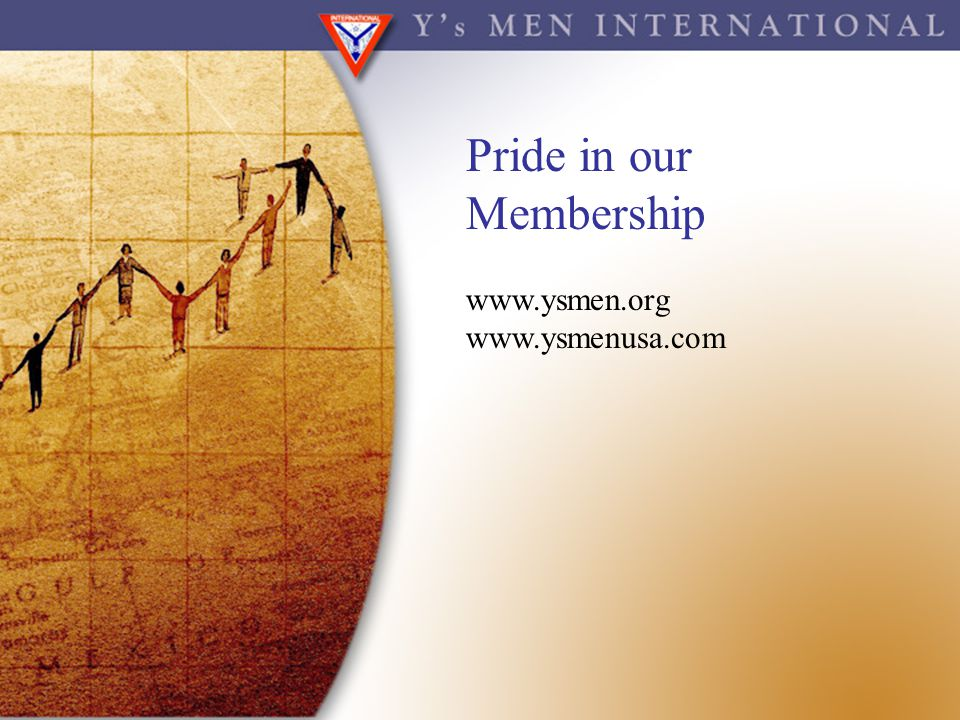 Pride in our Membership