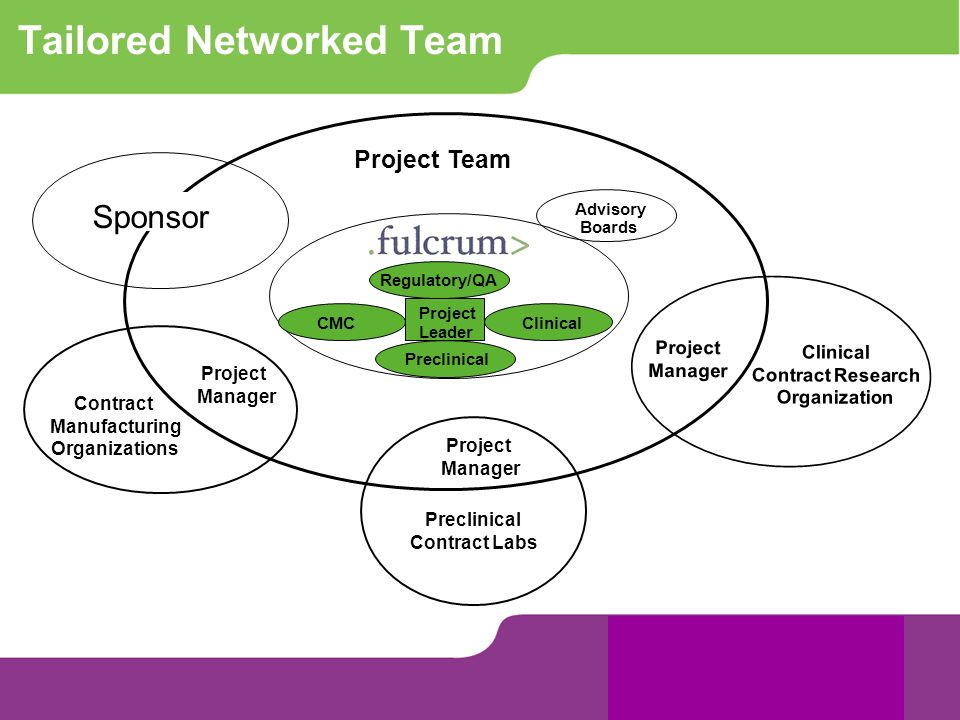 Tailored Networked Team