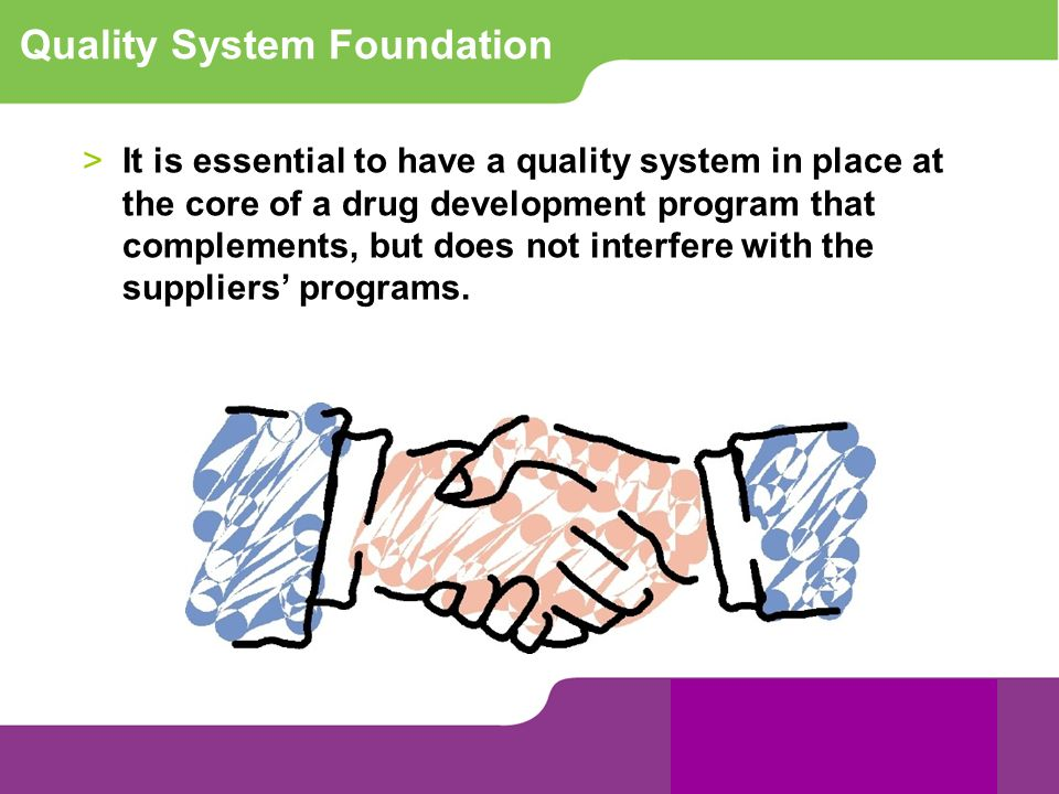 Quality System Foundation