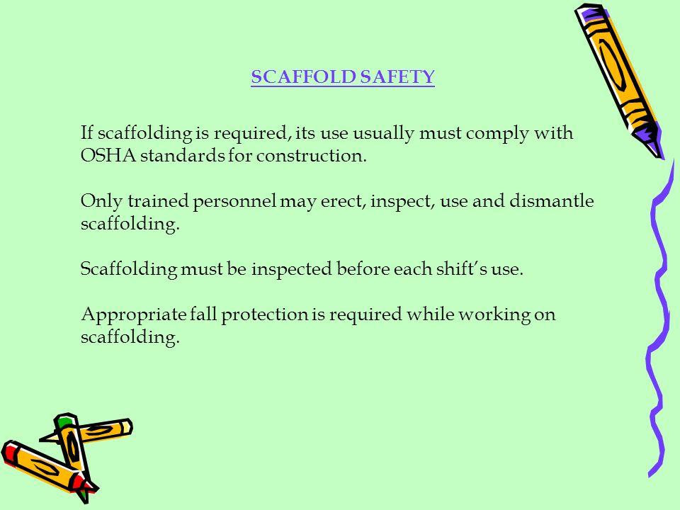 SCAFFOLD SAFETY