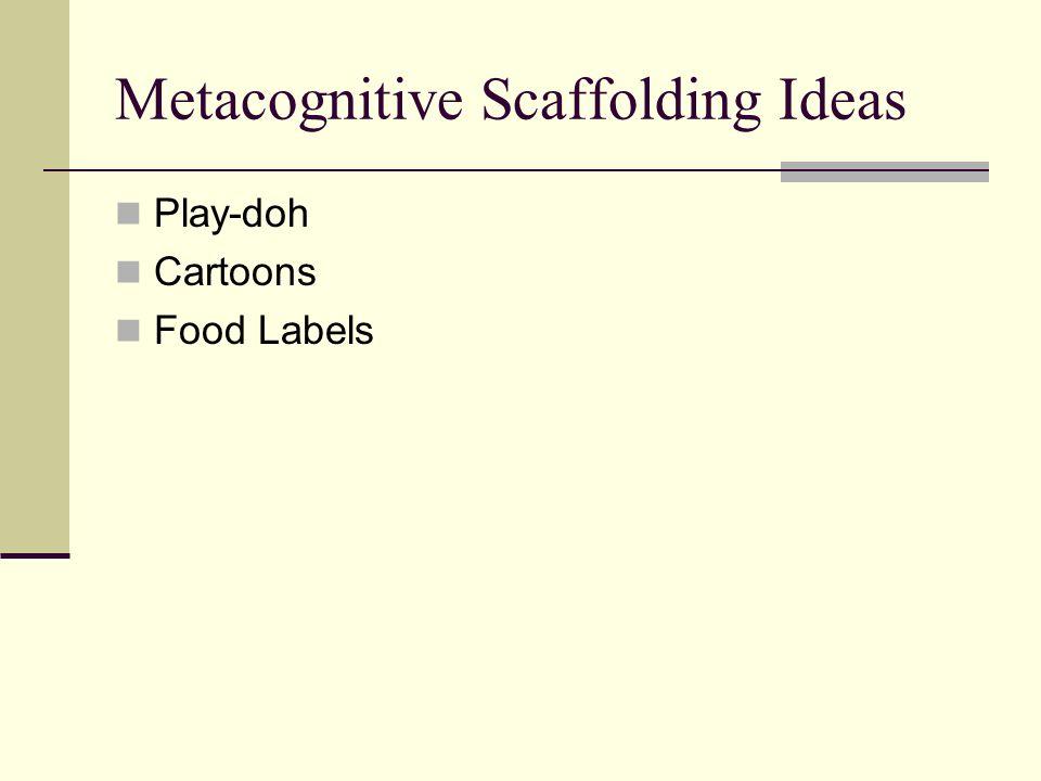 Metacognitive Scaffolding Ideas