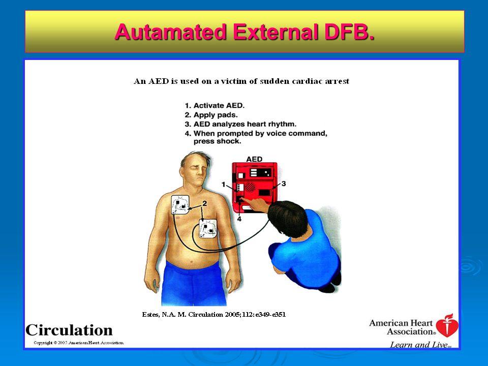 Autamated External DFB.