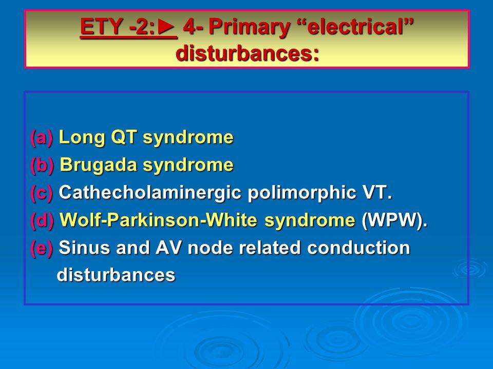 ETY -2:► 4- Primary electrical disturbances: