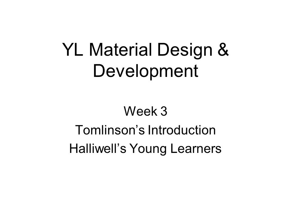 YL Material Design & Development