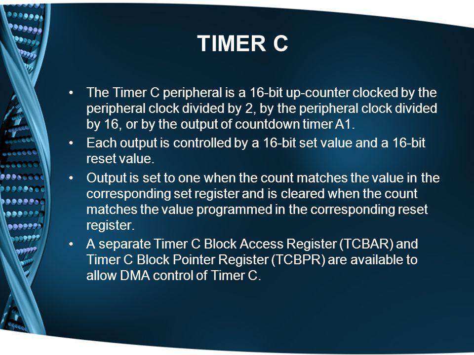 TIMER C