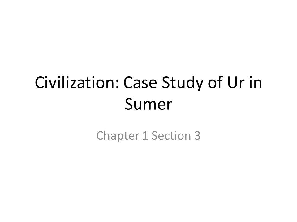 case study ch 1